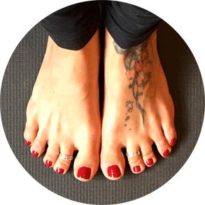 My Yogini Toes
